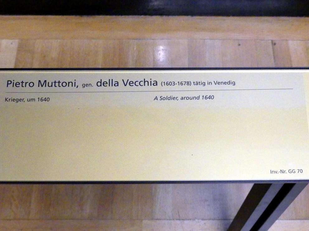 Pietro della Vecchia (Pietro Muttoni): Krieger, um 1640, Bild 2/2