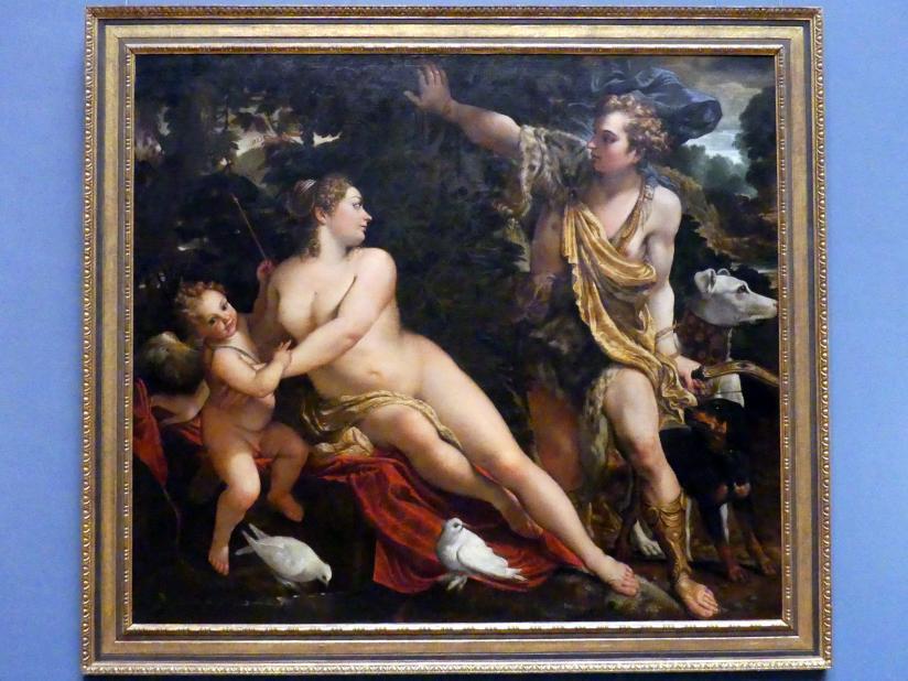 Annibale Carracci: Venus und Adonis, um 1595