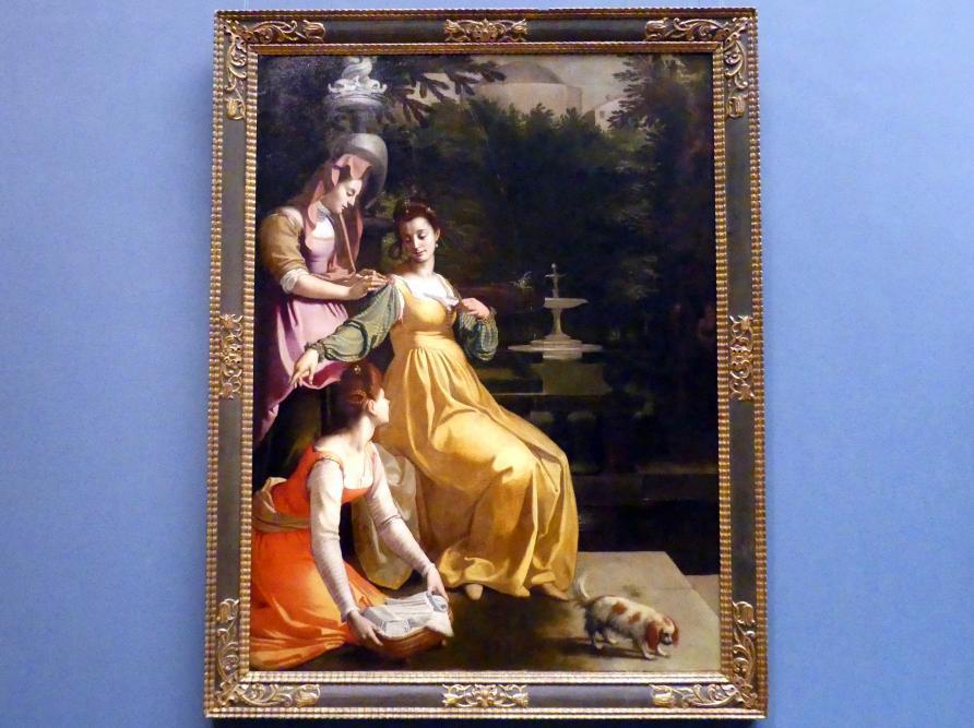 Jacopo da Empoli: Susanna im Bade, 1600