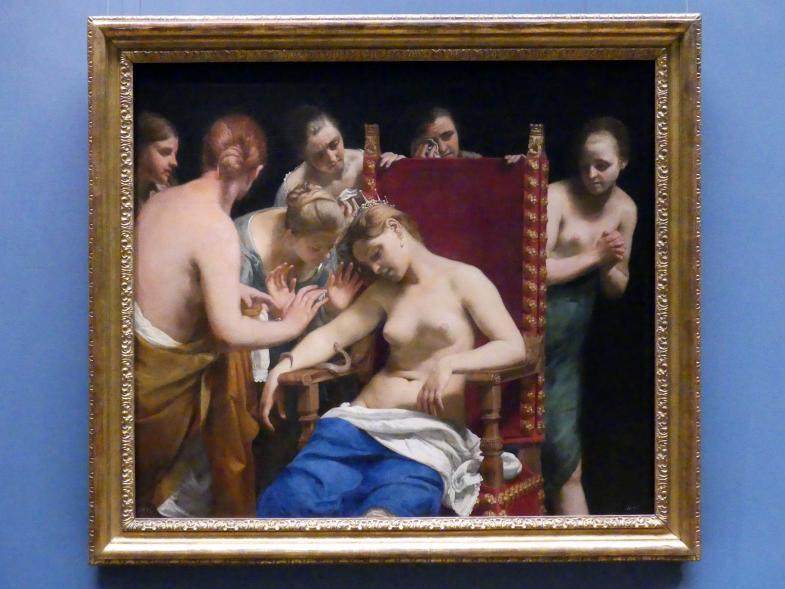 Guido Cagnacci: Selbstmord der Kleopatra, nach 1659