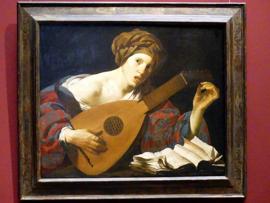 Hendrick ter Brugghen: Lautenspielerin, Um 1626