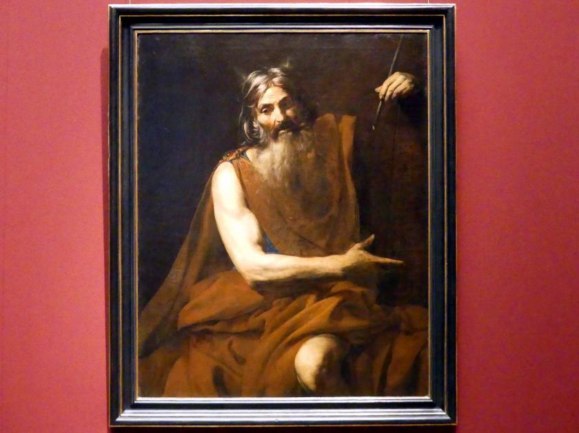Valentin de Boulogne: Moses, Um 1628