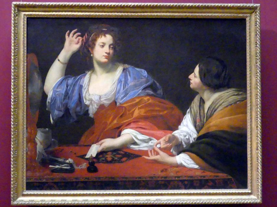 Simon Vouet: Martha tadelt ihre Schwester Maria Magdalena, um 1621