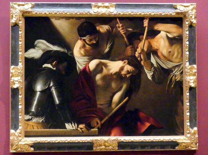 Michelangelo Merisi da Caravaggio: Dornenkrönung, um 1603