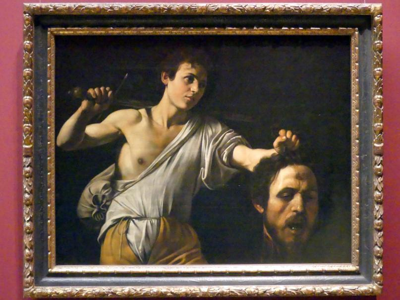 Michelangelo Merisi da Caravaggio: David mit dem Haupt des Goliath, um 1600 - 1601