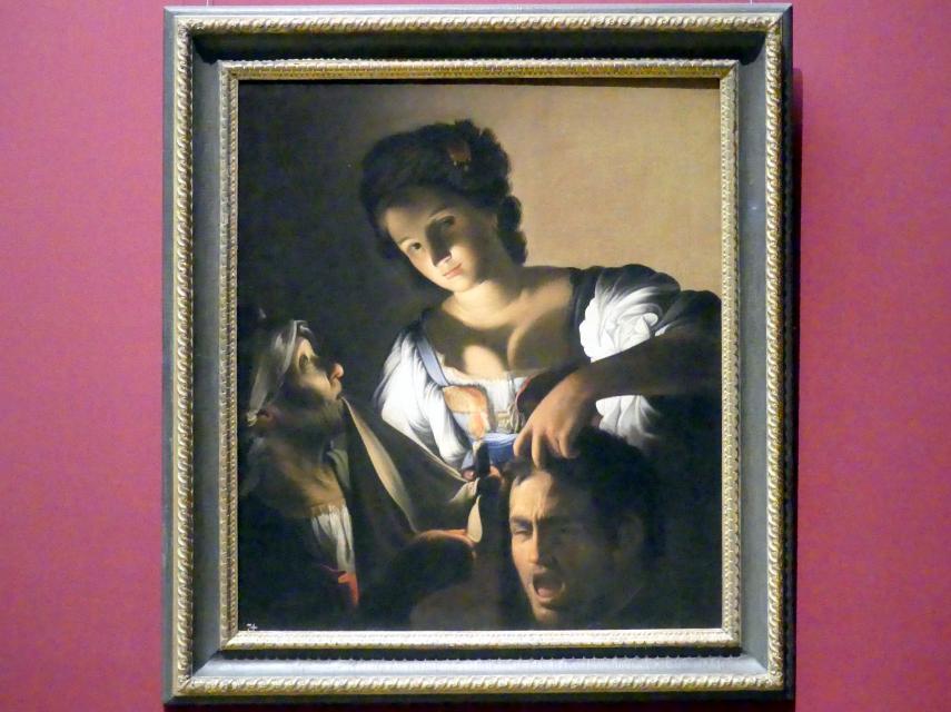 Carlo Saraceni: Judith mit dem Haupt des Holofernes, Um 1610 - 1615