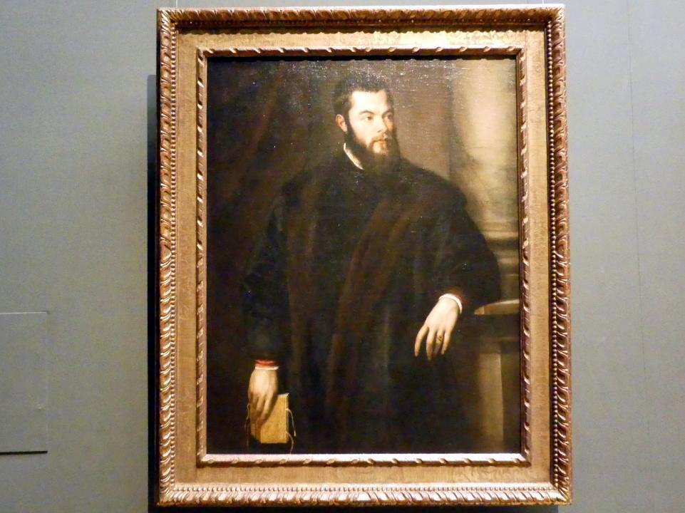 Tiziano Vecellio (Tizian): Benedetto Varchi, um 1540