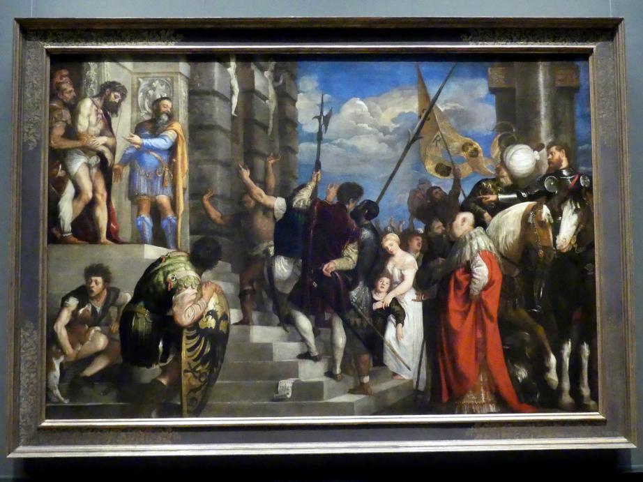 Tiziano Vecellio (Tizian): Ecce Homo, 1543