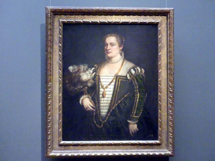 Tiziano Vecellio (Tizian): Lavinia (?), um 1565