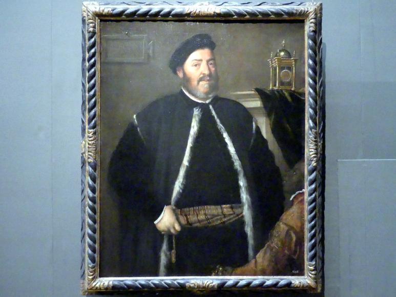 Tiziano Vecellio (Tizian): Fabrizio Salvaresio, 1558