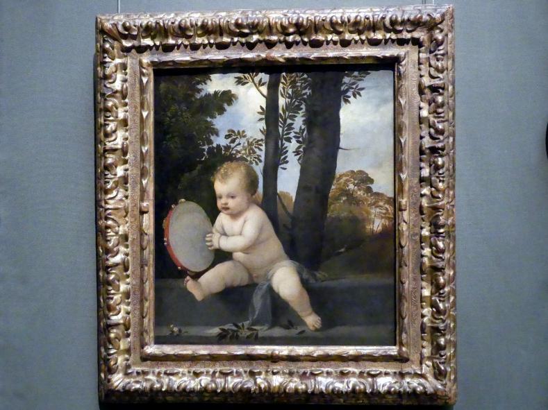 Der kleine Tamburinschläger, um 1510 - 1515