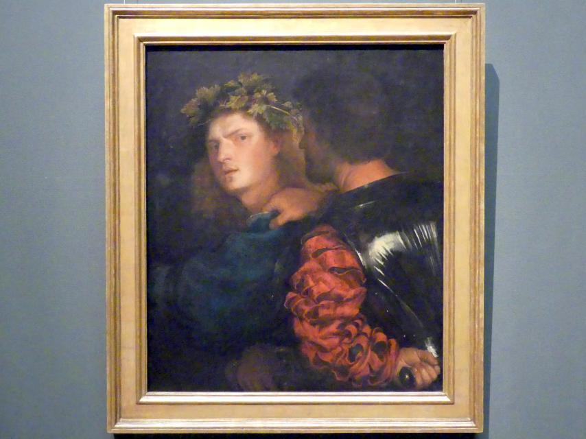 Tiziano Vecellio (Tizian): Bravo, um 1515 - 1520
