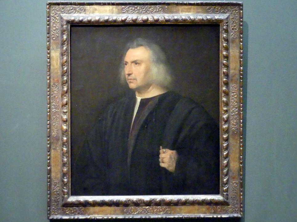 Tiziano Vecellio (Tizian): Gian Giacomo Bartolotti da Parma, um 1518