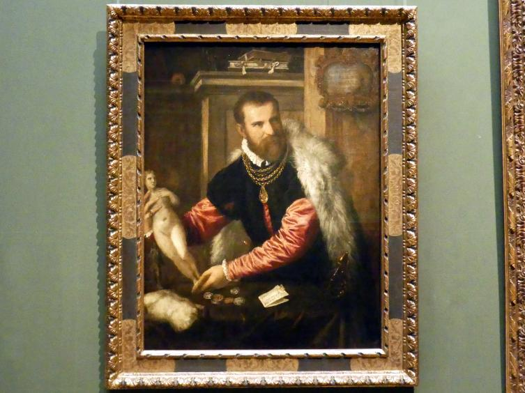Tiziano Vecellio (Tizian): Jacopo Strada, um 1567 - 1568