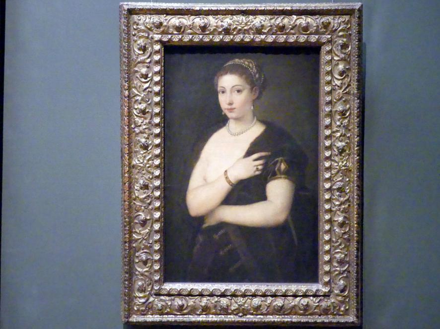 Tiziano Vecellio (Tizian): Mädchen im Pelz, um 1535