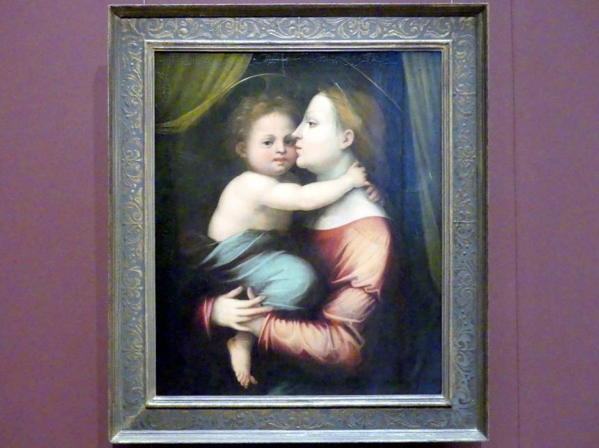 Fra Bartolomeo (Baccio della Porta): Maria mit Kind, um 1514 - 1516