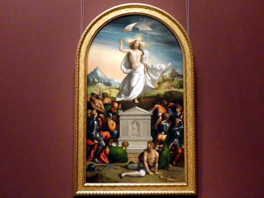Benvenuto Tisi Garofalo: Auferstehung Christi, 1520