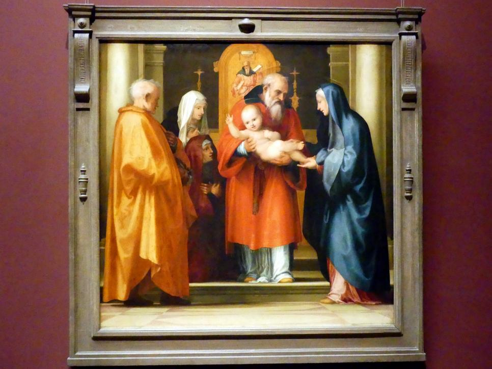 Fra Bartolomeo (Baccio della Porta): Darstellung Christi im Tempel, 1516