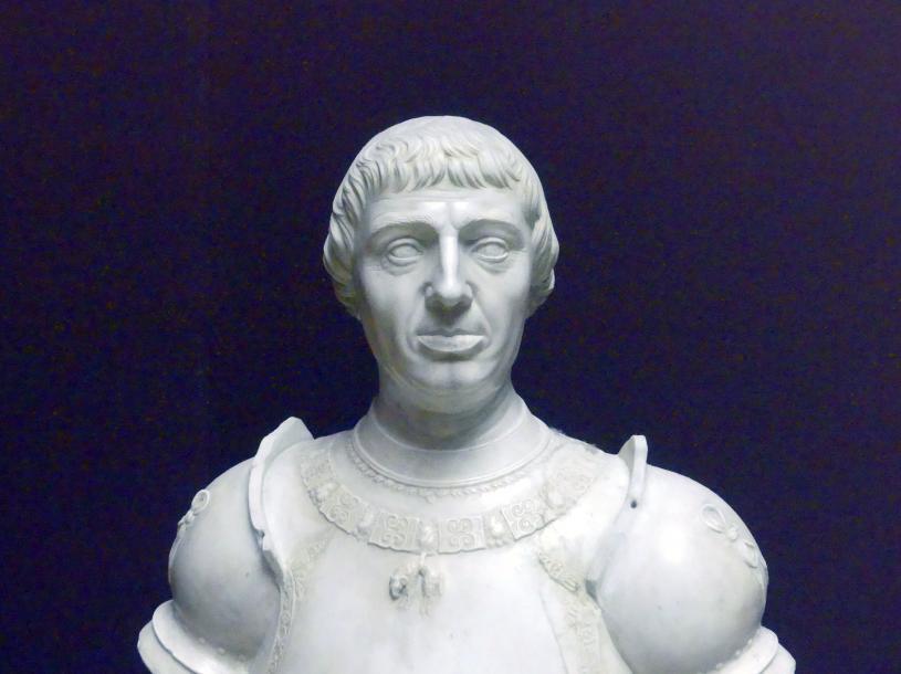 Giovanni Angelo Montorsoli: Alfonso V. von Aragon, als Alfons I. König von Neapel, um 1541 - 1543, Bild 4/5