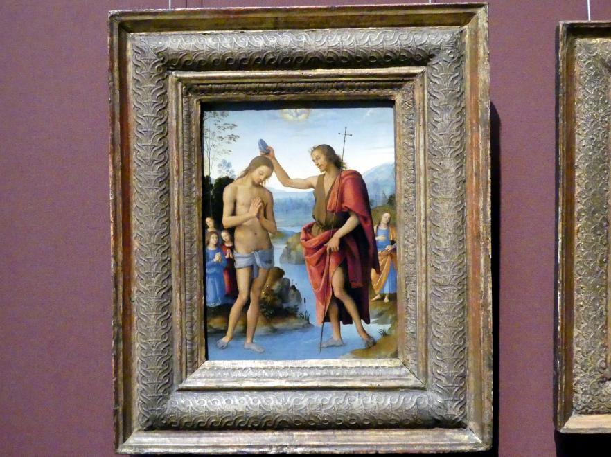 Pietro Perugino (Pietro di Cristoforo Vannucci): Taufe Christi, um 1498 - 1500
