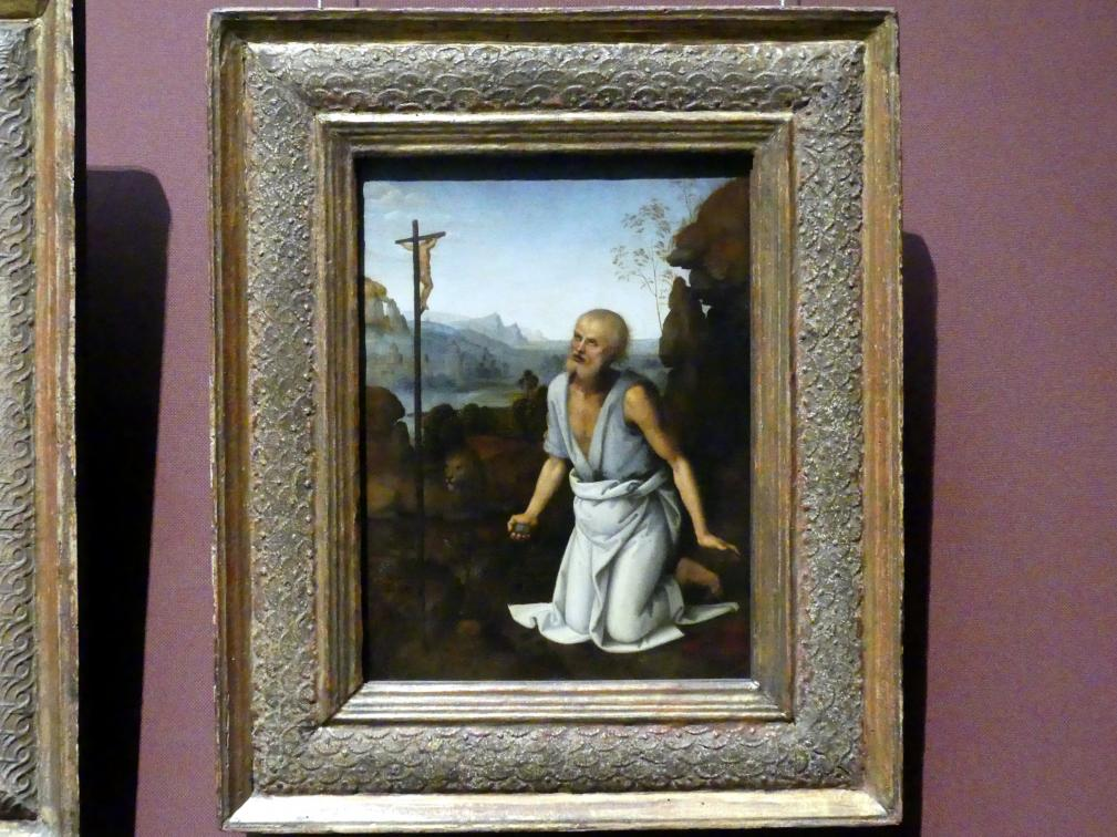 Pietro Perugino (Pietro di Cristoforo Vannucci): Hl. Hieronymus, um 1502, Bild 1/2