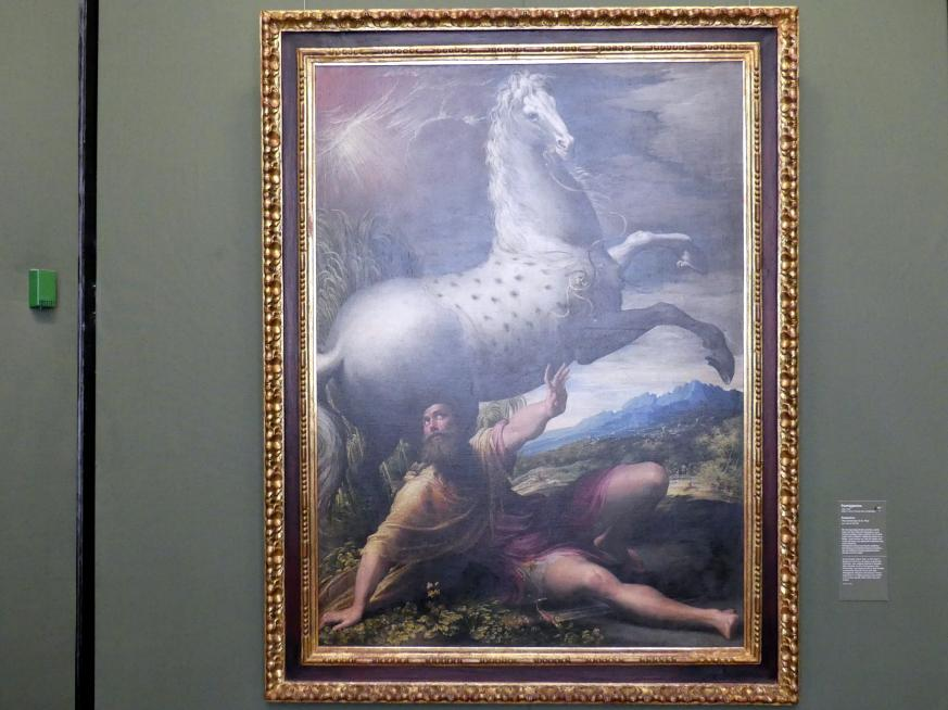Parmigianino (Girolamo Francesco Maria Mazzola): Paulussturz, um 1527 - 1528