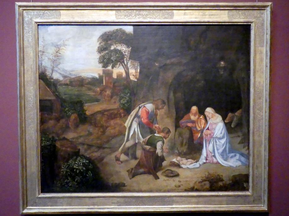 Giorgio da Castelfranco (Giorgione) (Werkstatt): Anbetung der Hirten, Um 1510