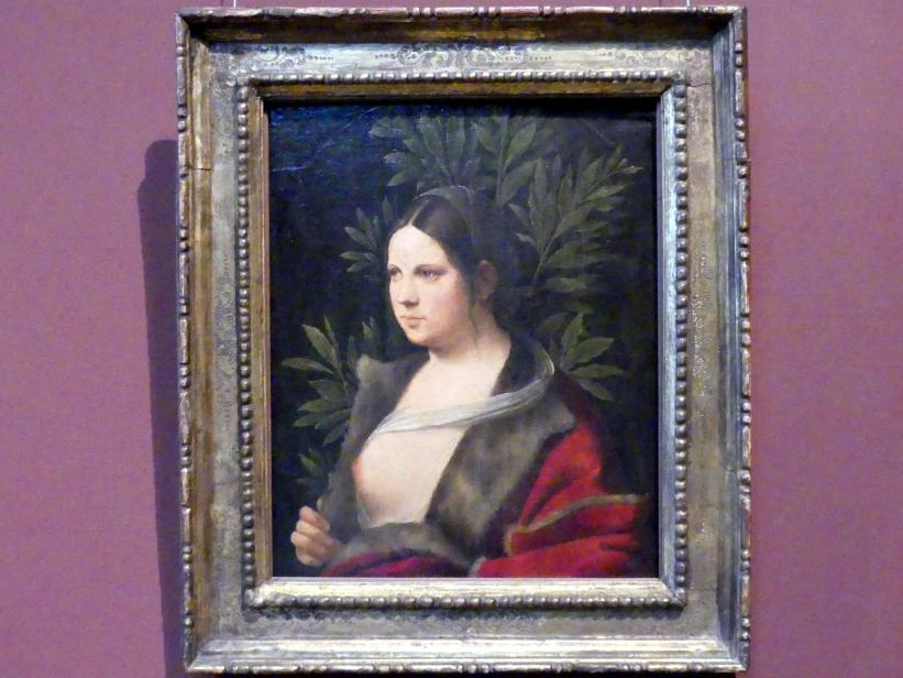 Giorgio da Castelfranco (Giorgione): Laura, 1506