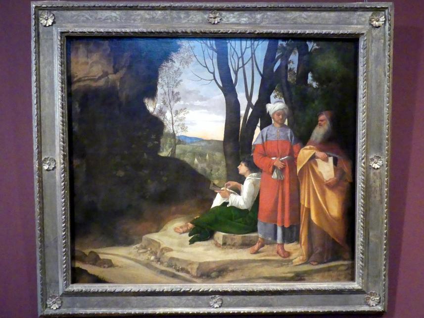 Giorgio da Castelfranco (Giorgione): Die drei Philosophen, um 1508 - 1509