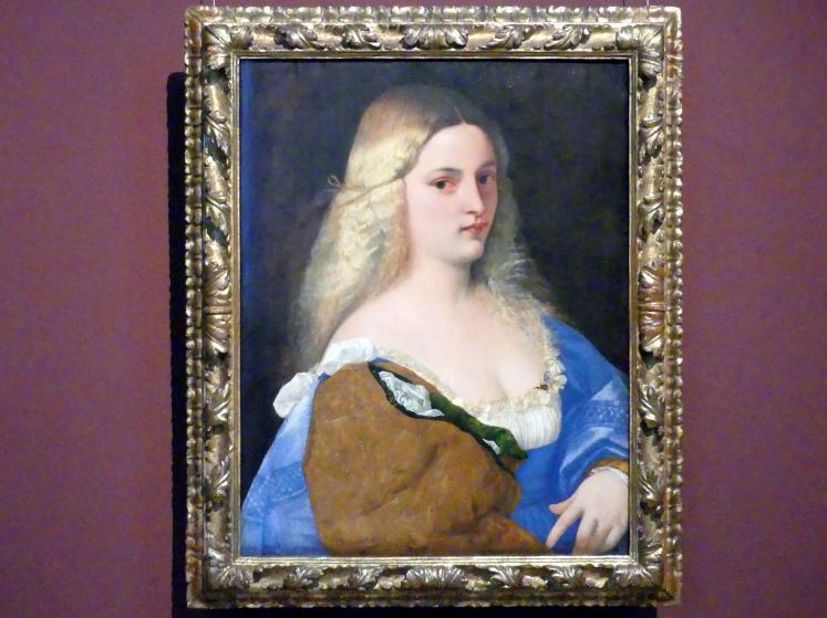Tiziano Vecellio (Tizian): Violante, um 1510 - 1515