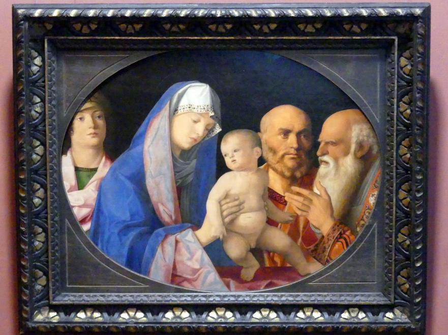 Giovanni Bellini: Darbringung Christi im Tempel, um 1490 - 1500