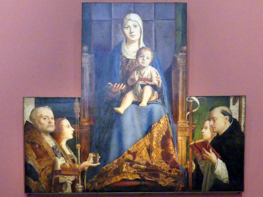 Antonello da Messina: Pala di San Cassiano, Um 1475 - 1476