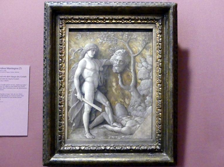 Andrea Mantegna: David mit dem Haupt des Goliath, Um 1490 - 1495
