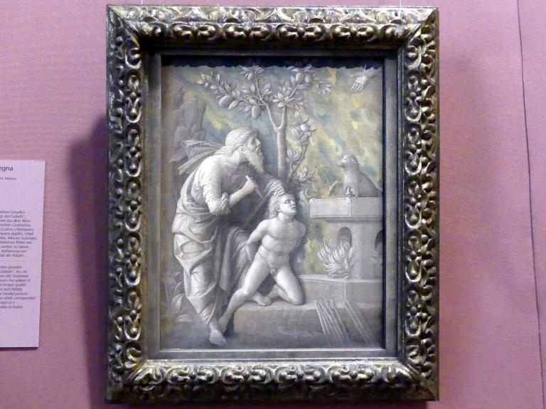 Andrea Mantegna: Opferung Isaaks, Um 1490 - 1495