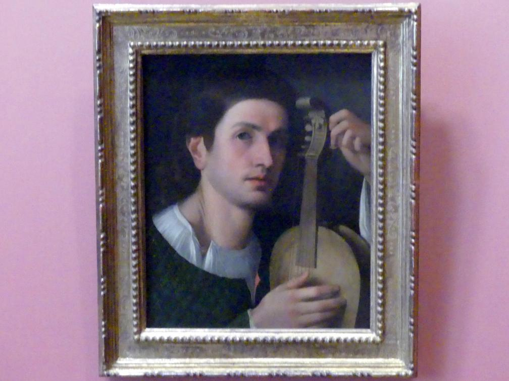 Lira da braccio - Spieler, um 1515, Bild 1/2