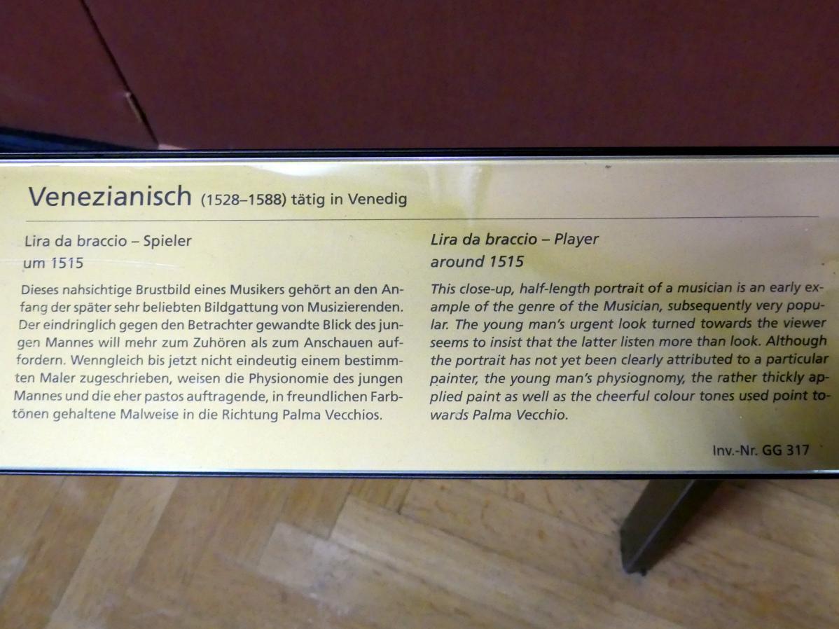 Lira da braccio - Spieler, um 1515, Bild 2/2