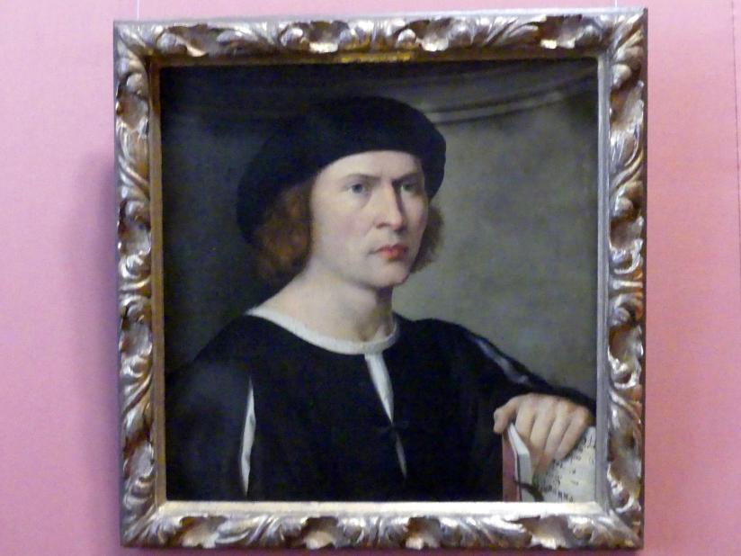 Pordenone (Giovanni Antonio da Pordenone): Bildnis eines Musikers, um 1515 - 1520