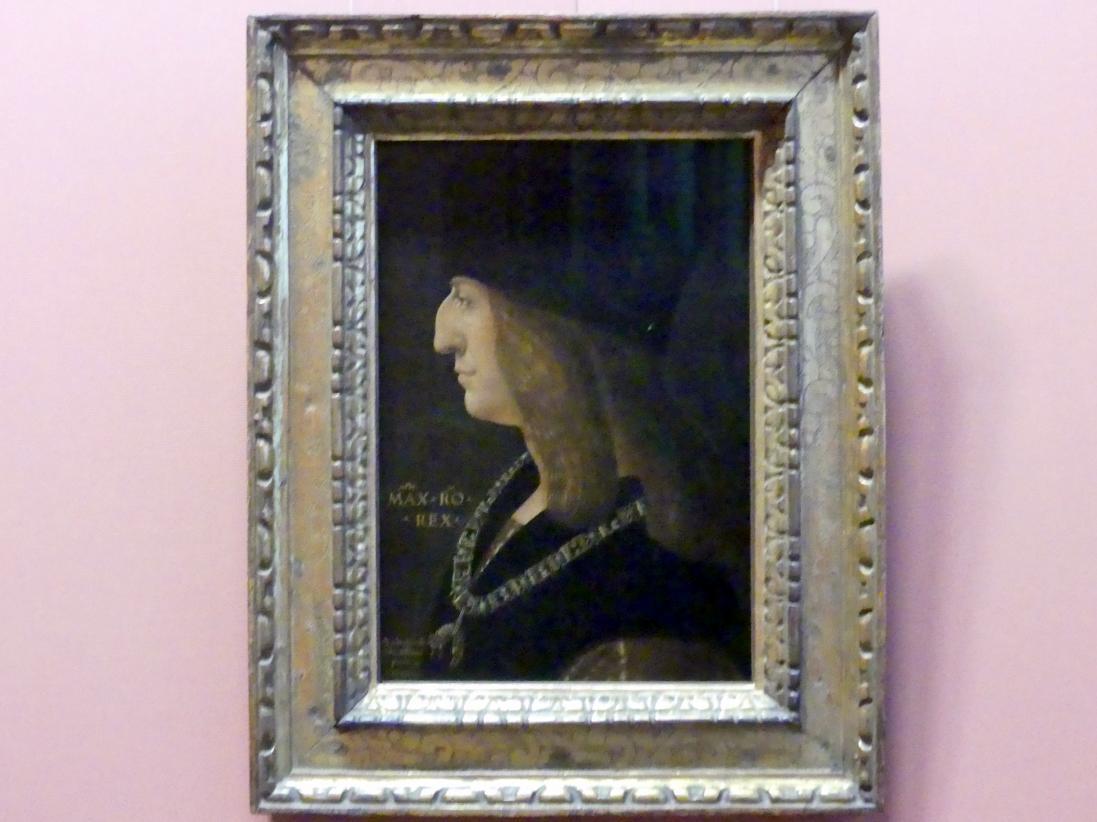 Ambrogio de Predis: Kaiser Maximilian I., 1502
