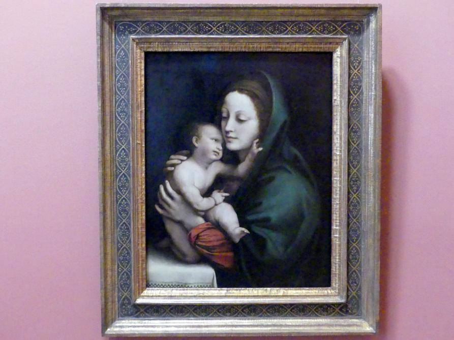 Bernardino Luini: Maria mit Kind, um 1510