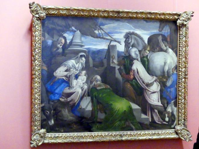 Jacopo Bassano (da Ponte): Anbetung der Könige, um 1555 - 1560