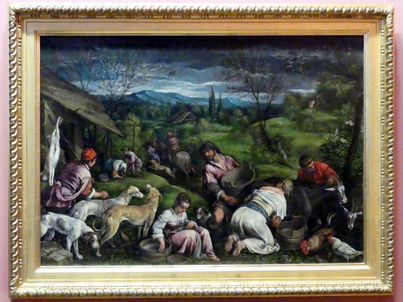 Francesco Bassano der Jüngere: Frühling, nach 1576