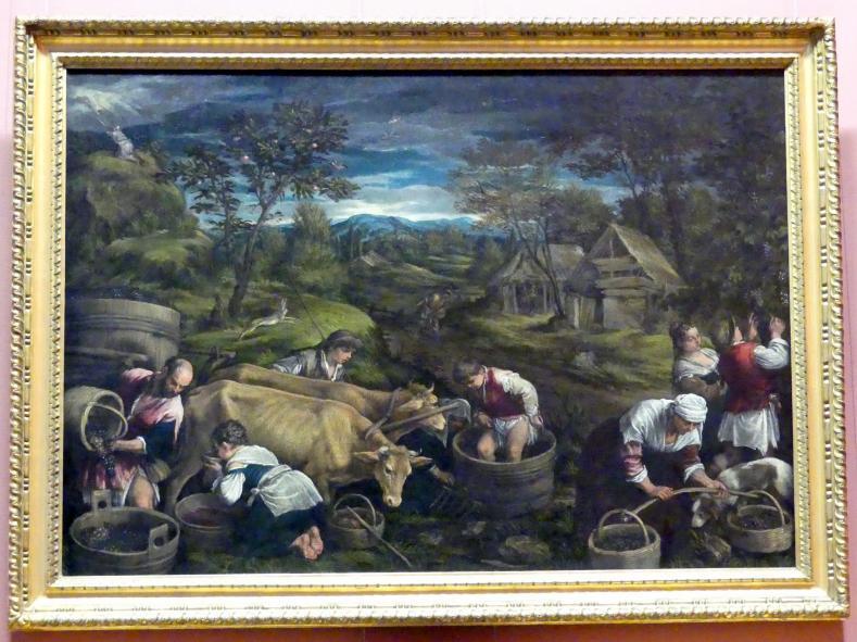 Francesco Bassano der Jüngere: Herbst, um 1576, Bild 1/2