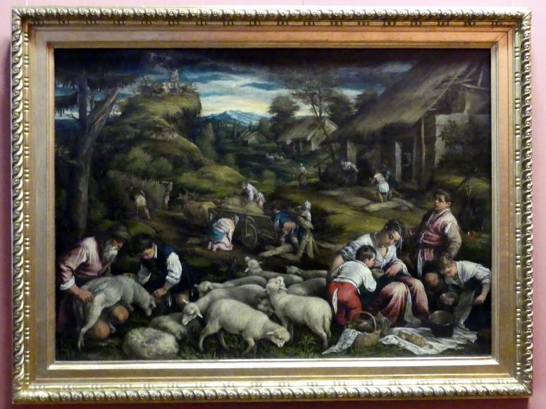 Francesco Bassano der Jüngere: Sommer, um 1576