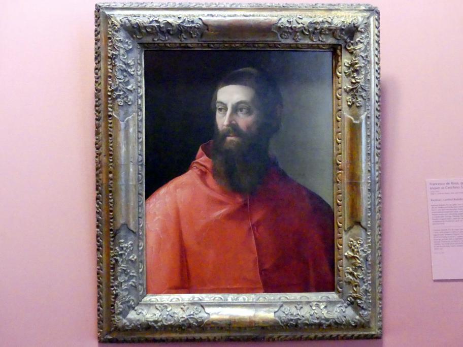 Francesco Salviati: Kardinal Rodolfo Pio, Undatiert