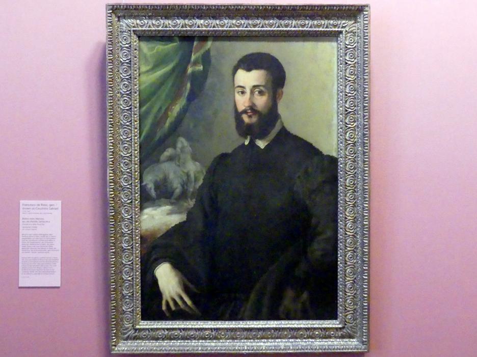 Francesco Salviati: Bildnis eines Mannes aus der Familie Santacroce, Um 1540 - 1550