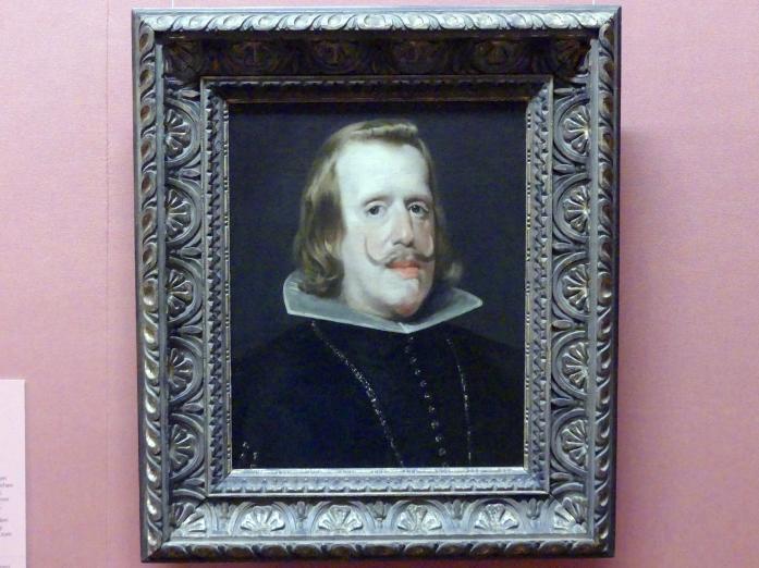 Diego Velázquez (Werkstatt): König Philipp IV. von Spanien, um 1653 - 1656