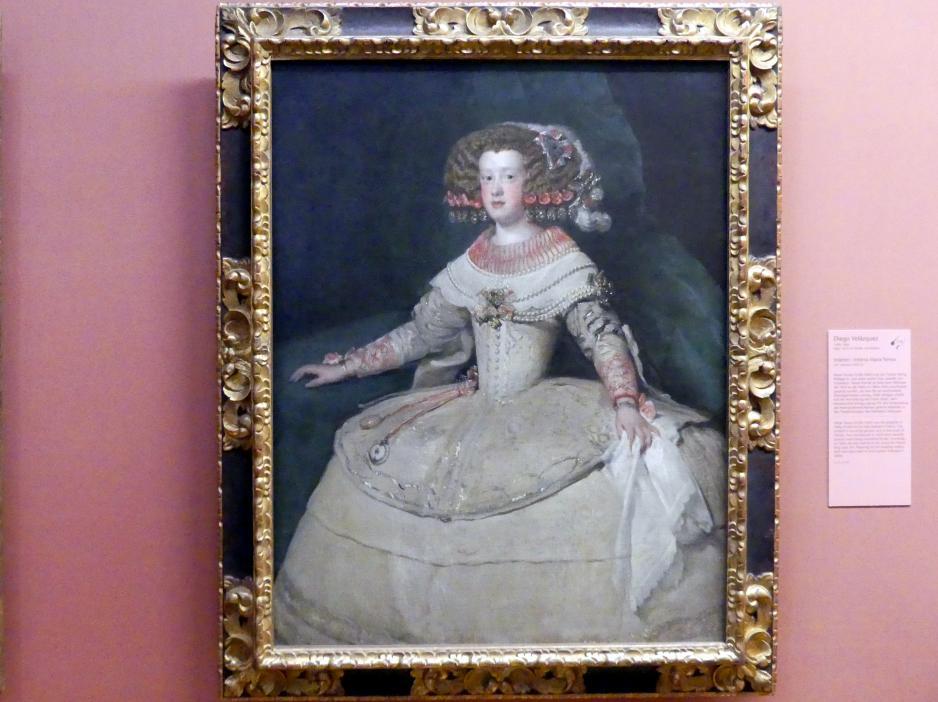 Diego Rodríguez de Silva y Velázquez: Infantin Maria Teresa, um 1652 - 1653