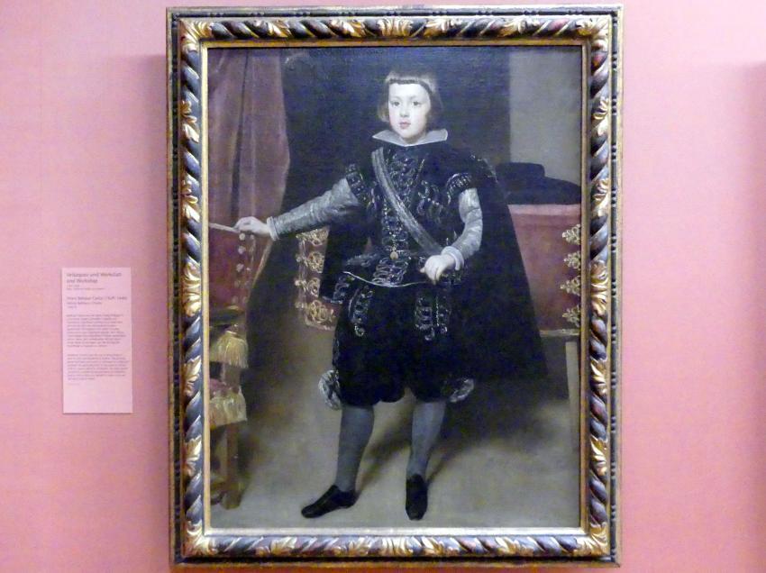 Diego Rodríguez de Silva y Velázquez: Infant Baltasar Carlos (1629-1646), um 1638 - 1639