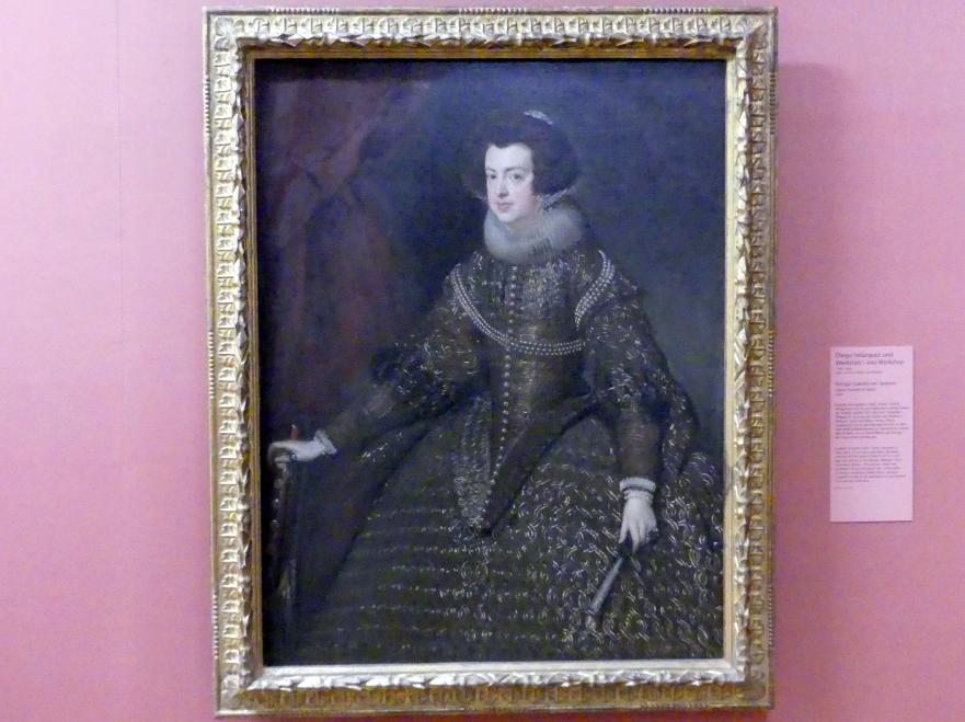 Diego Rodríguez de Silva y Velázquez: Königin Isabella von Spanien, 1632