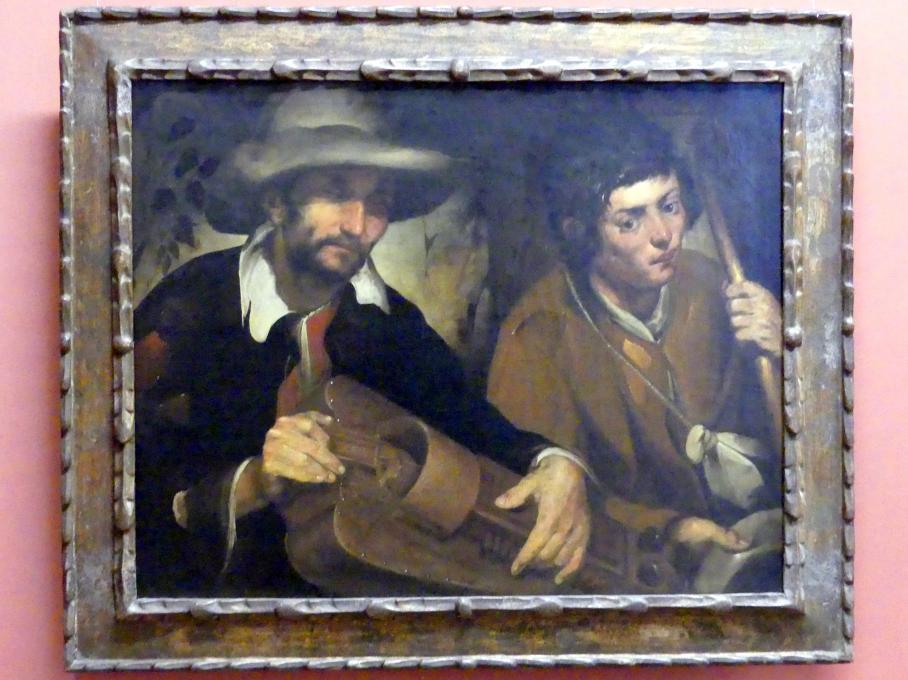 Francisco de Herrera der Ältere: Blinder Drehleierspieler, Um 1640